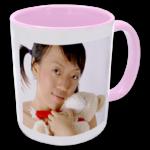 2 Tone Mug - Pink