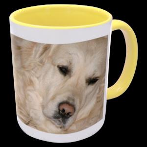 2 Tone Mug - Yellow