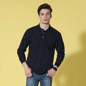 Long Sleeve Soft-touch Polo